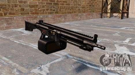 Единый пулемёт HK21 для GTA 4