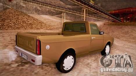 Ikco Paykan Pickup для GTA San Andreas вид слева
