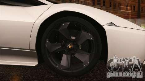 Lamborghini Reventon 2008 SLOD для GTA San Andreas вид сбоку