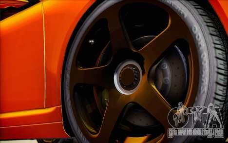 RUF RT12R для GTA San Andreas колёса