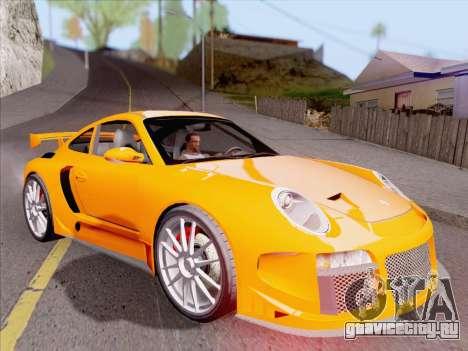 Porsche Carrera S для GTA San Andreas колёса