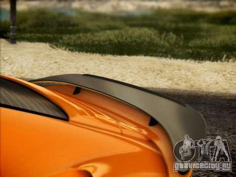 RUF RT12S для GTA San Andreas вид сбоку