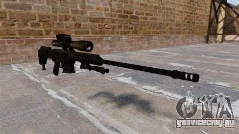 Снайперская винтовка Barrett 98B для GTA 4