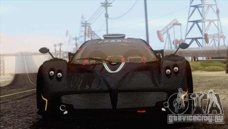 Pagani Zonda R SPS v3.0 Final для GTA San Andreas вид сзади слева