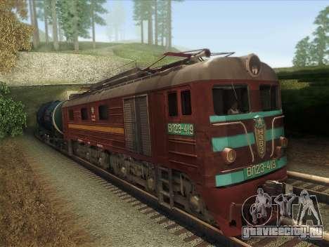 ВЛ23-419 для GTA San Andreas вид слева