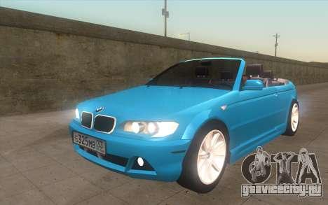 BMW 325Ci 2003 для GTA San Andreas