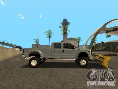 Ford F-450 для GTA San Andreas вид справа