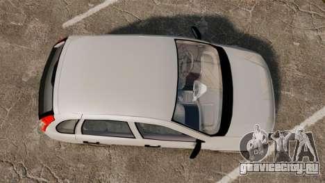 ВАЗ-1119 Lada Kalina для GTA 4 вид справа