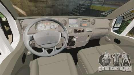 Renault Master French Red Cross [ELS] для GTA 4 вид сзади