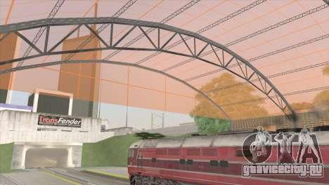 РЖД станция в Сан-Фиерро для GTA San Andreas третий скриншот