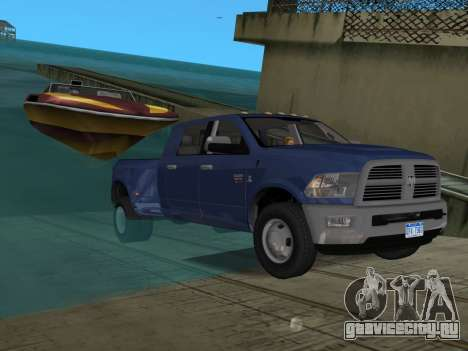 Dodge Ram 3500 Laramie 2012 для GTA Vice City салон