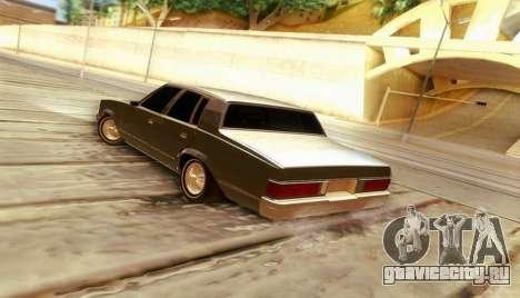 Chevrolet Malibu 1981 для GTA San Andreas вид слева