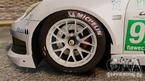Porsche 911 (991) RSR для GTA 4 вид сзади