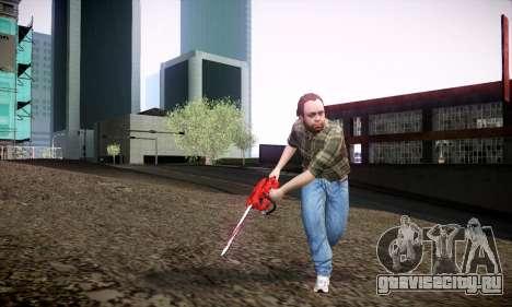 Lester из GTA V для GTA San Andreas четвёртый скриншот
