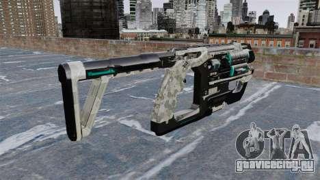 Пистолет-пулемёт Crysis 2 для GTA 4 второй скриншот