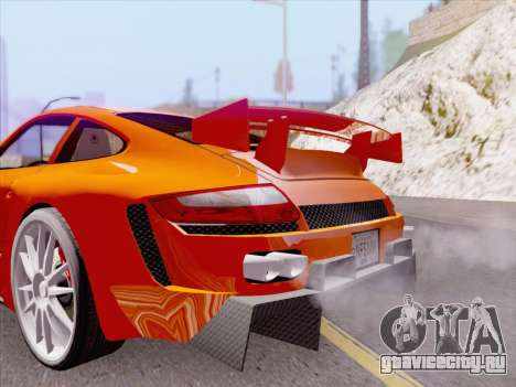 Porsche Carrera S для GTA San Andreas салон