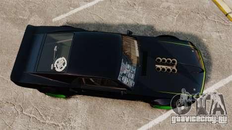 Ford Mustang RTRX для GTA 4 вид справа