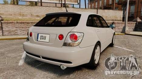 Toyota Altezza Gita для GTA 4 вид сзади слева
