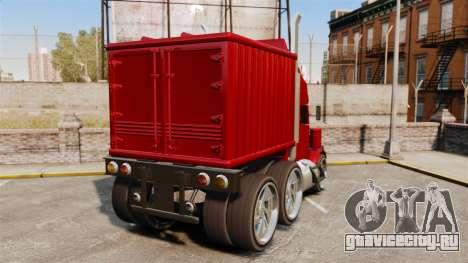 Мини-грузовик для GTA 4 вид сзади слева