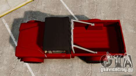 GTA V Canis Bodhi для GTA 4 вид справа