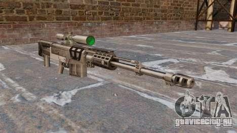 Снайперская винтовка AS50 для GTA 4
