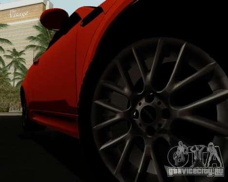 MINI Cooper S 2012 для GTA San Andreas салон