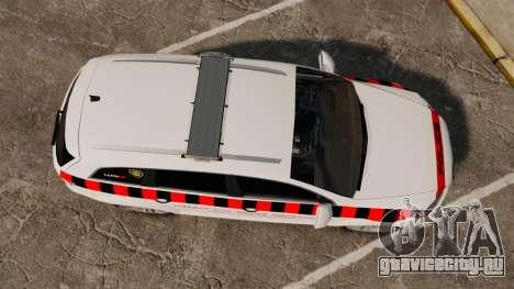Audi Q7 Enforcer [ELS] для GTA 4 вид справа