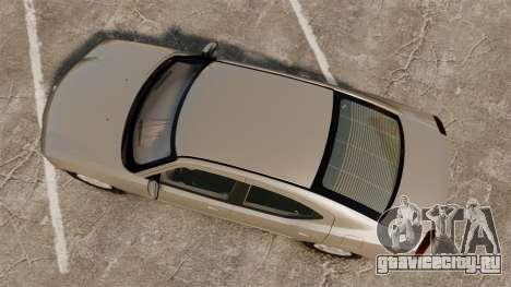 Dodge Charger SE 2006 для GTA 4 вид справа