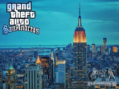Loadscreens New-York для GTA San Andreas пятый скриншот