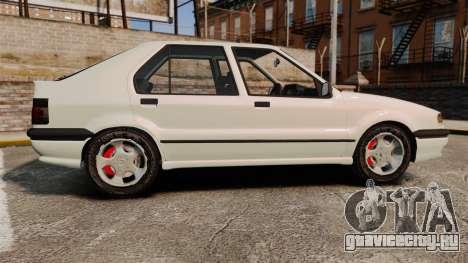 Renault 19 Europa для GTA 4 вид слева