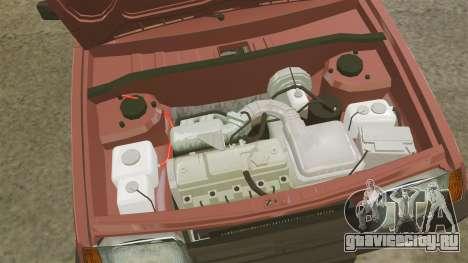 ВАЗ-2109 для GTA 4 вид сзади