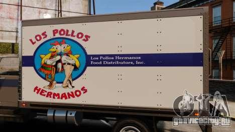 Yankee Los Pollos Hermanos для GTA 4 вид сзади слева