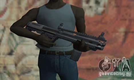 KSG12 для GTA San Andreas третий скриншот