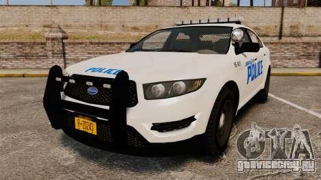 GTA V Vapid Police Interceptor LCPD [ELS] для GTA 4