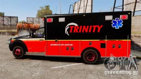 Landstalker L-350 Trinity EMS Ambulance [ELS] для GTA 4 вид слева