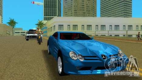 Mercedes-Benz SLR McLaren для GTA Vice City вид слева