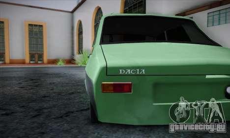 Dacia 1300 Retro Art для GTA San Andreas вид справа