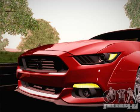 Ford Mustang Rocket Bunny 2015 для GTA San Andreas колёса