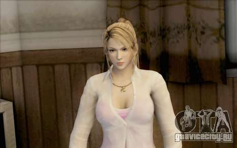 Sarah из Dead or Alive 5 для GTA San Andreas