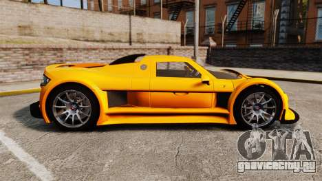 Gumpert Apollo S 2011 для GTA 4 вид слева