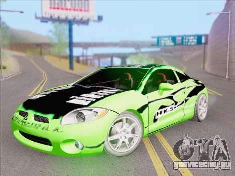 Mitsubishi Eclipse v4 для GTA San Andreas салон