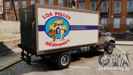 Yankee Los Pollos Hermanos для GTA 4 вид слева