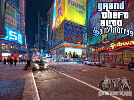 Loadscreens New-York для GTA San Andreas