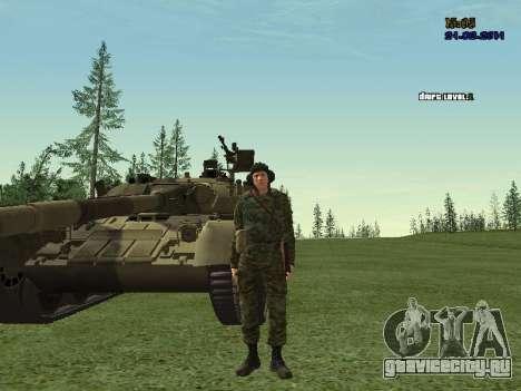 Танкист для GTA San Andreas третий скриншот
