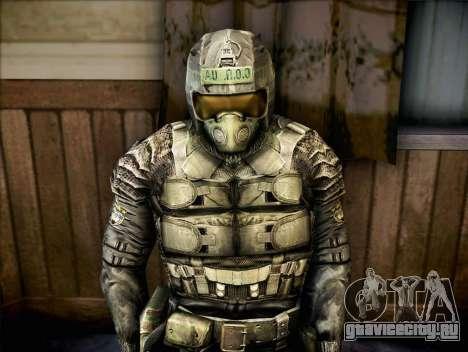 Военный из Зов Припяти для GTA San Andreas