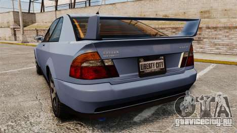Sultan Coupe для GTA 4 вид сзади слева