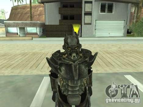New skin from Fallout 3 для GTA San Andreas четвёртый скриншот