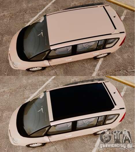 Renault Espace IV Initiale v1.1 для GTA 4 вид справа