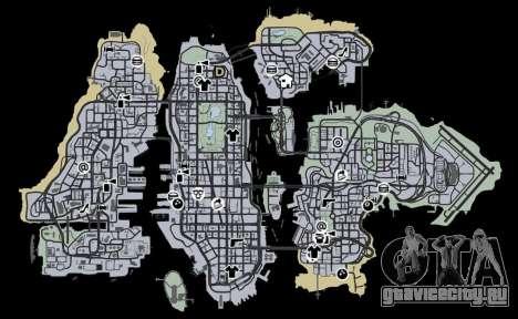 Liberty City Map V Style для GTA 4 третий скриншот