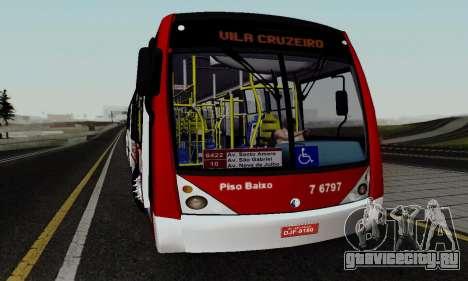 Caio Millennium II Volks 17-240 для GTA San Andreas вид сзади